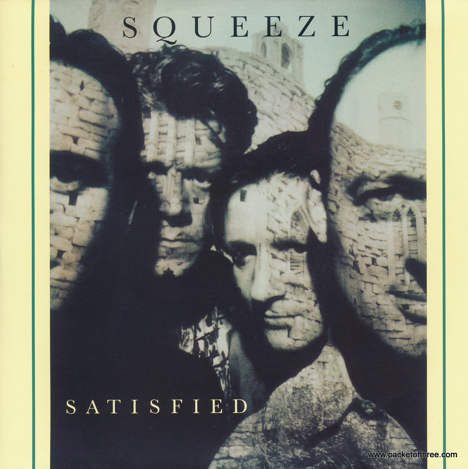 """Satisfied - UK- 7"""" - Promotional copy - picture sleeve"""