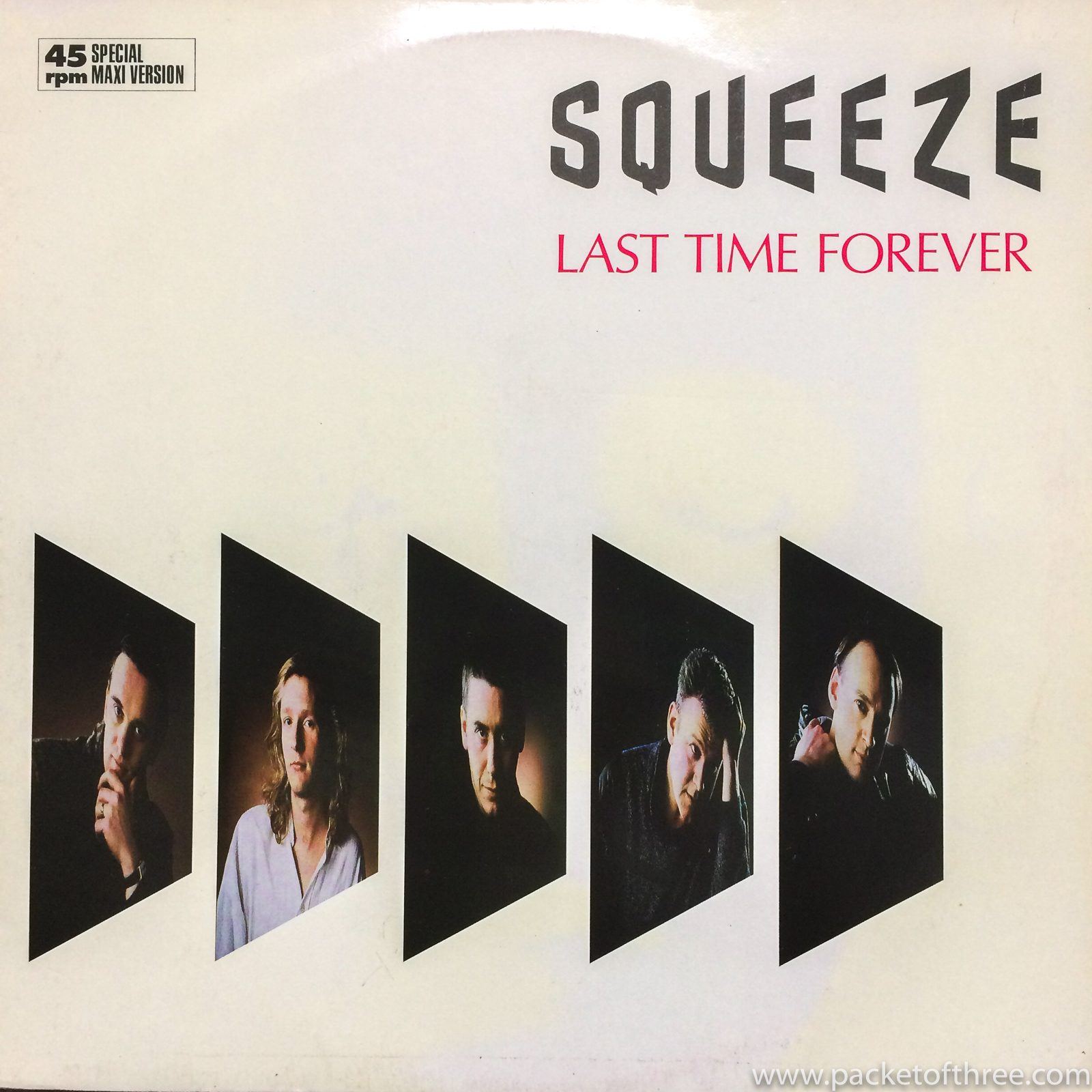 "Squeeze - Last Time Forever - 12"" - Germany"