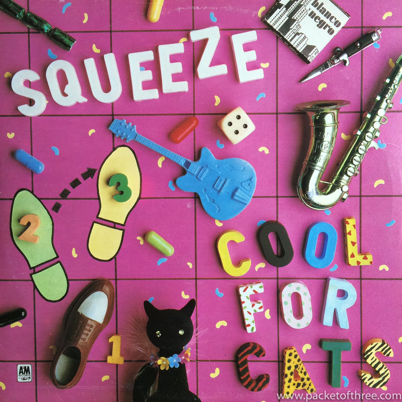 """Squeeze - Cool For Cats - 12"""" picture sleeve"""