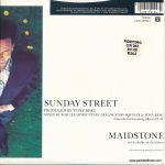 "Sunday Street - UK - 7"" - promotional copy - picture sleeve"