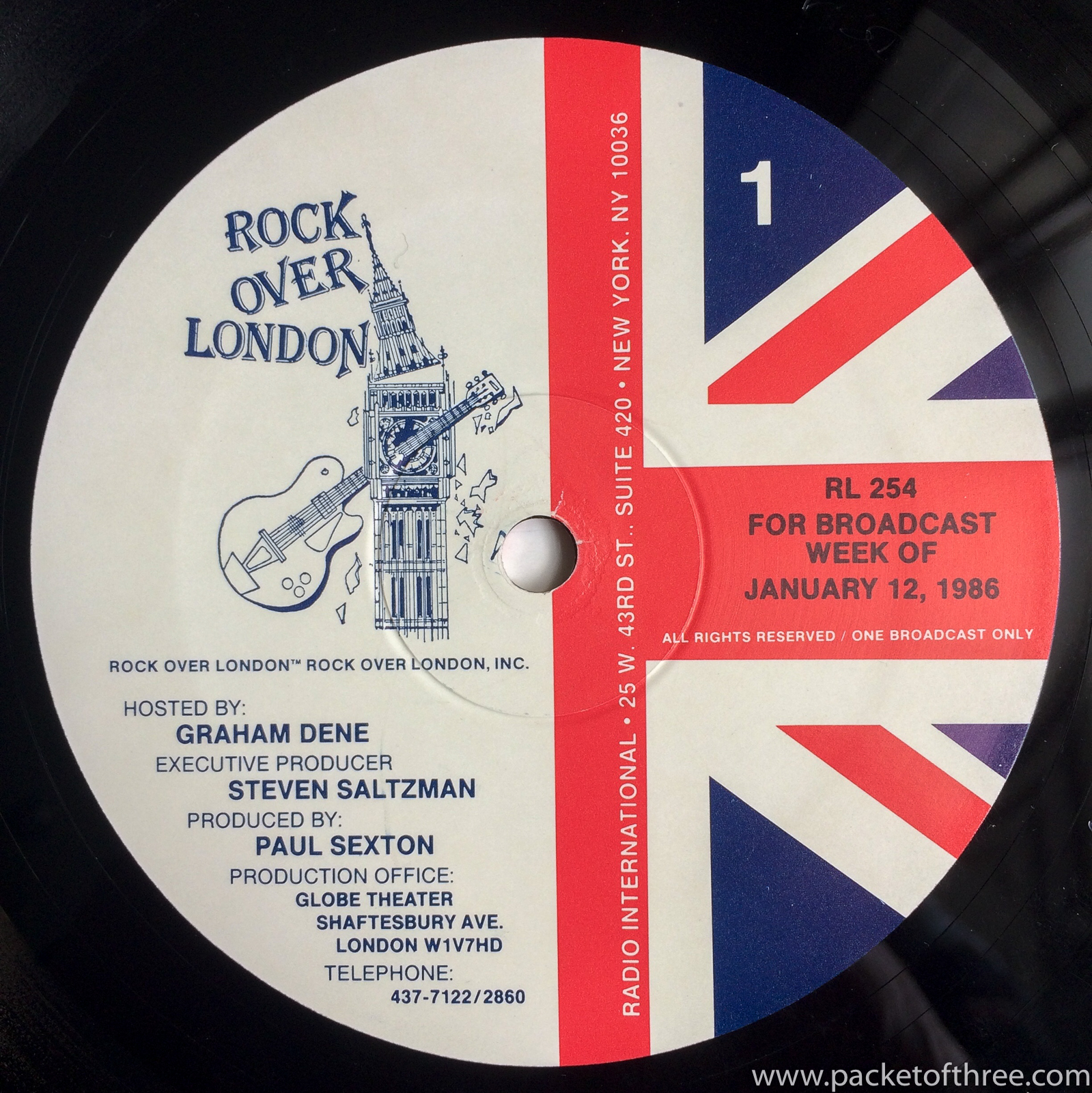 Squeeze - Rock Over London